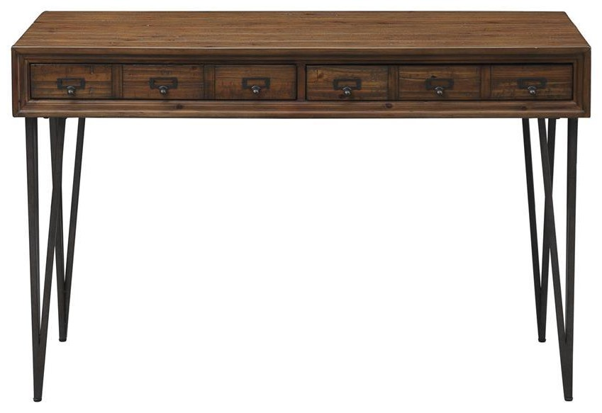 Mona Mona 2 Drawer Desk at Morris Home