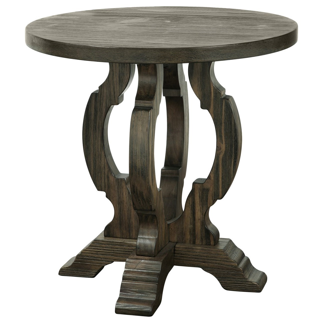 Orchard Park Round Accent Table by C2C at Walker's Furniture