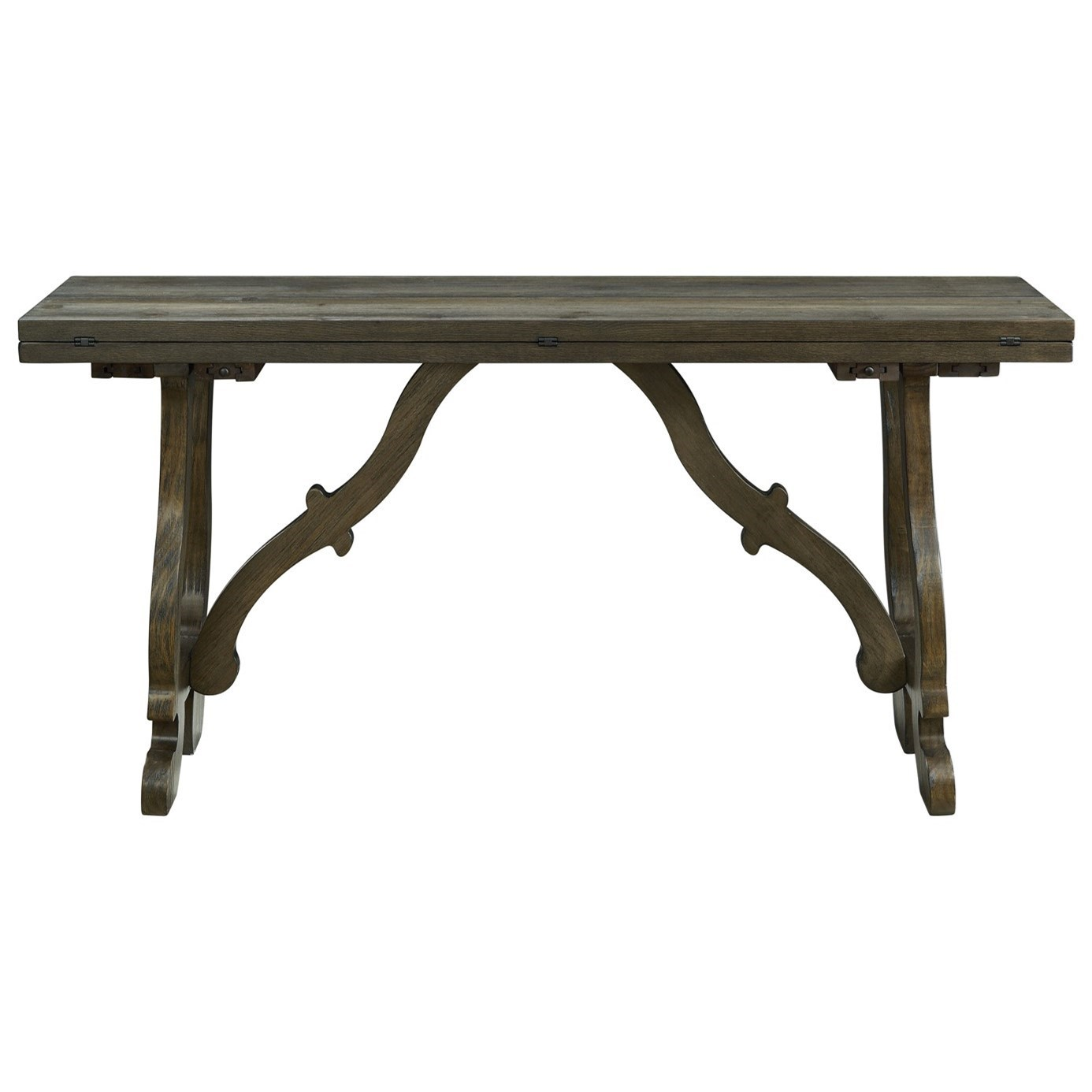 Orchard Park Fold Out Console by C2C at Walker's Furniture