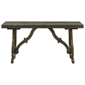 Traditional Drop Leaf Console/Dining Table