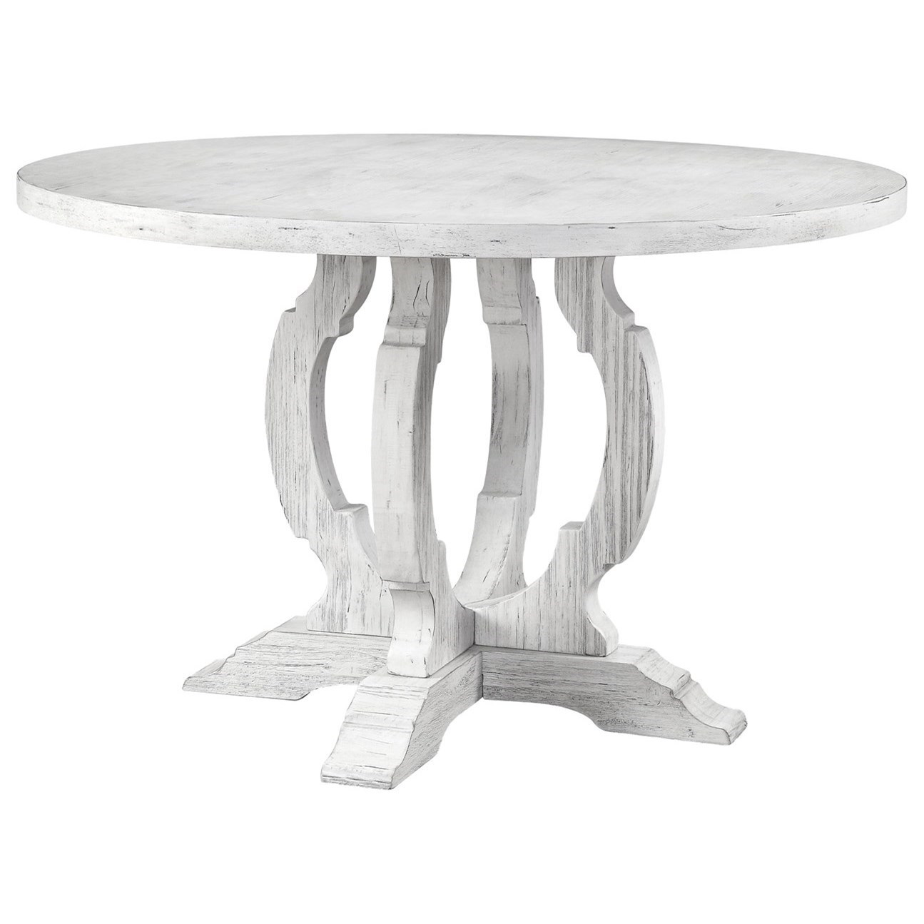 Orchard Park Round Dining Table by C2C at Walker's Furniture
