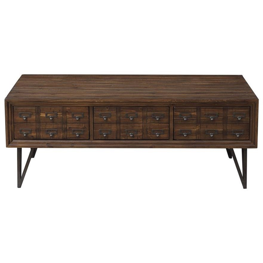Oxford Cocktail Table by Coast to Coast Imports at Johnny Janosik