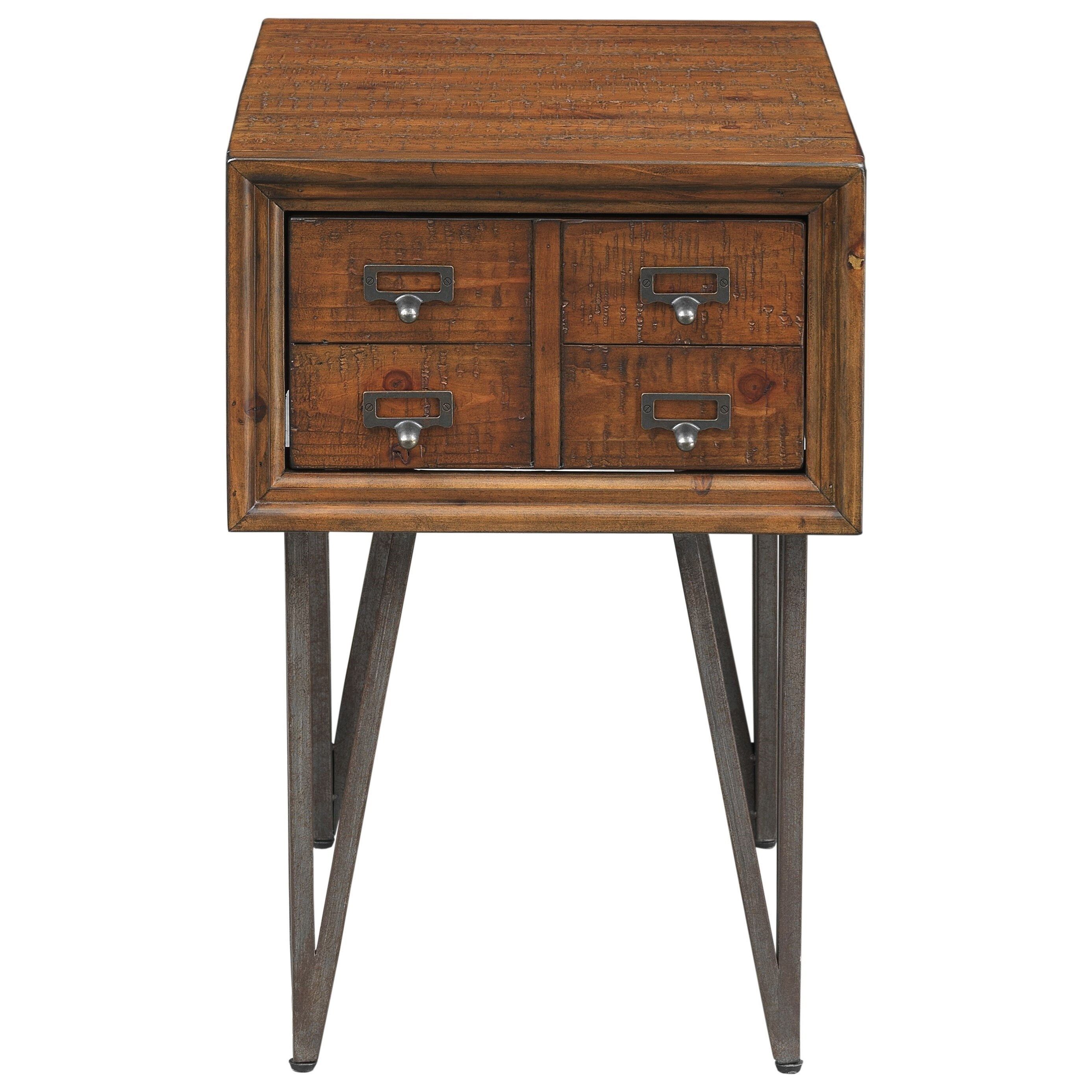 Oxford One Drawer Chairside Table by Coast to Coast Imports at Johnny Janosik