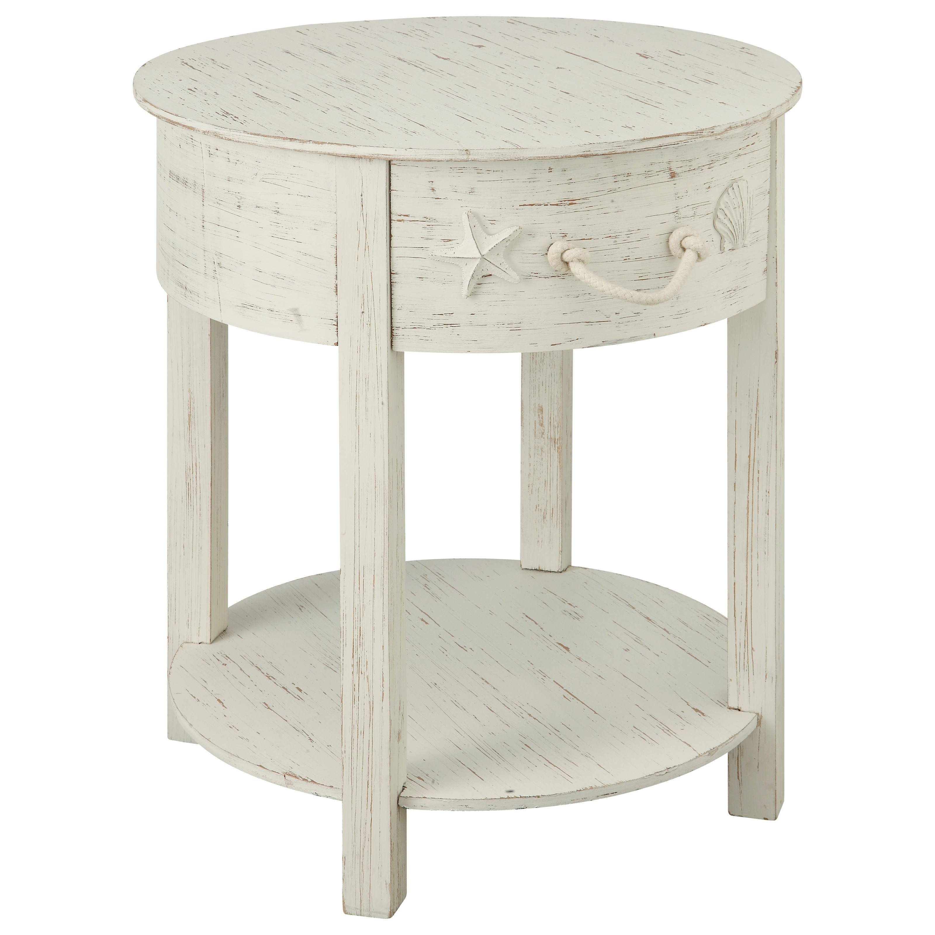 Sanibel One Drawer Accent Table by Coast to Coast Imports at Johnny Janosik