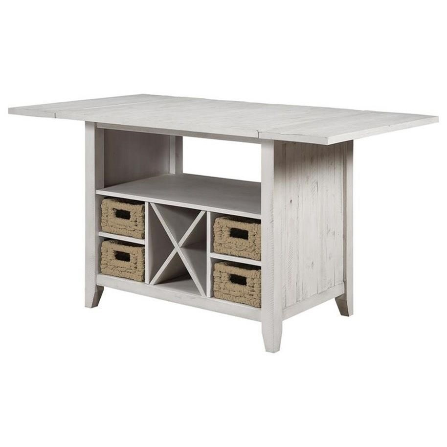 Santa Clara Drop Leaf Counter Height Dining  by C2C at Walker's Furniture