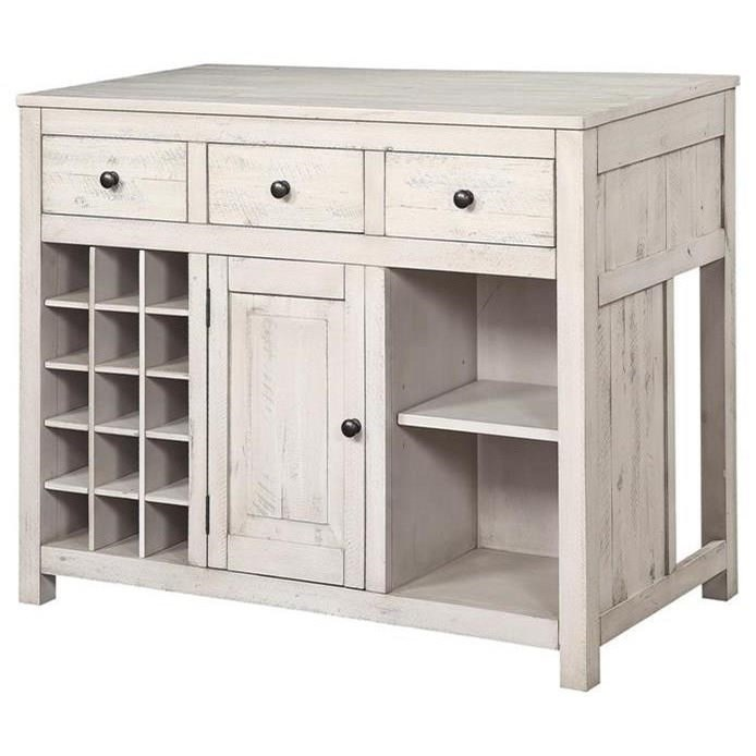 Santa Clara Three Drawer Wine Server/Pub Table by Coast to Coast Imports at Baer's Furniture