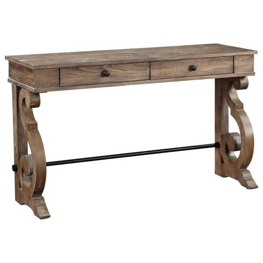 Sherwood Two Drawer Console Table by C2C at Walker's Furniture