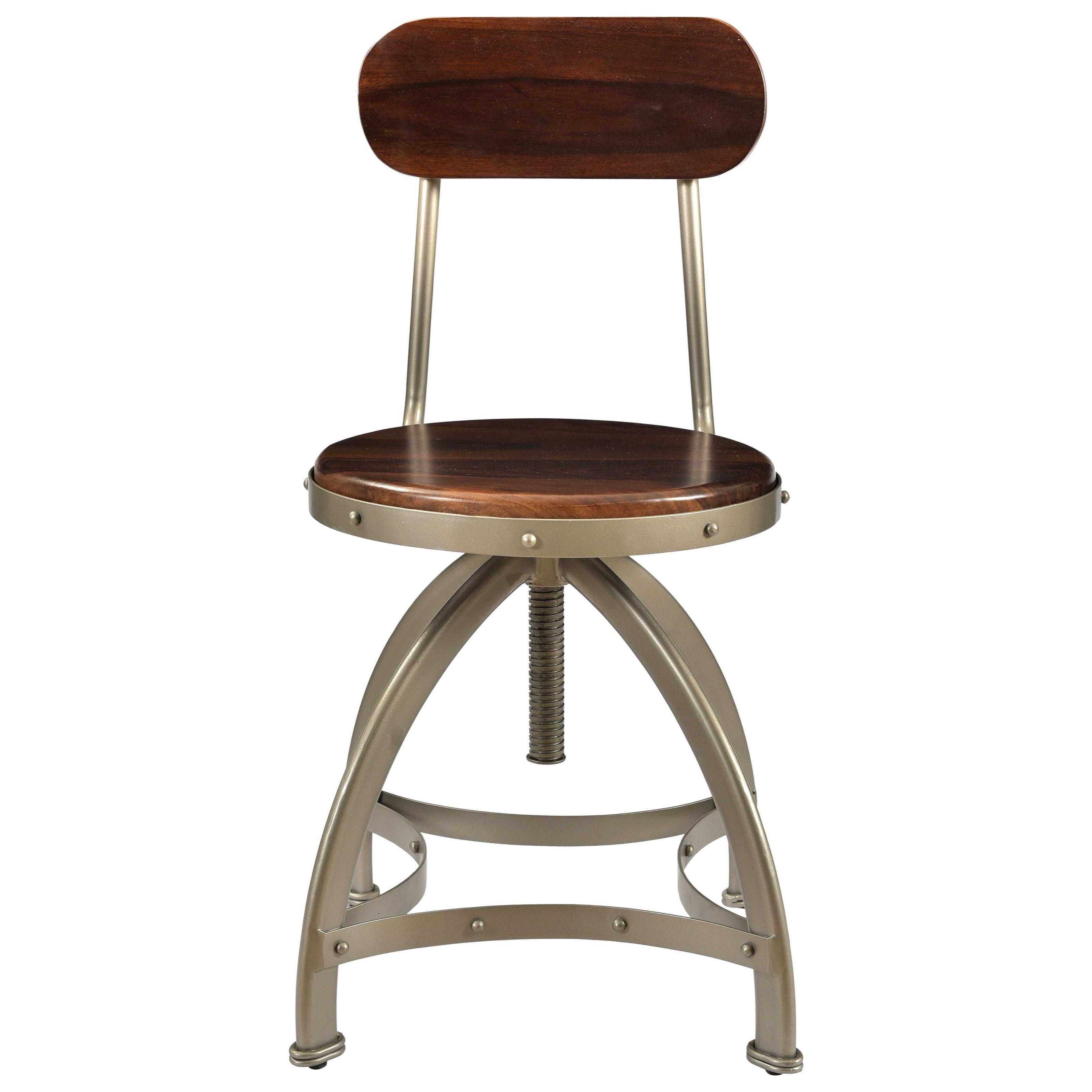 Tacoma Adjustable Barstool by C2C at Walker's Furniture