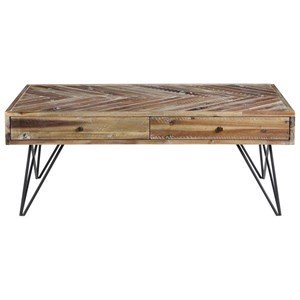 Two Drawer Cocktail Table