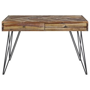 Contemporary Two Drawer Writing Desk