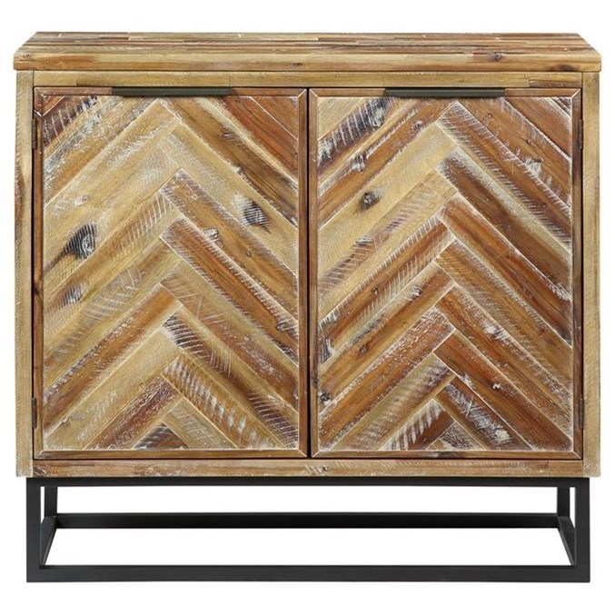 Vail Two Door Cabinet by C2C at Walker's Furniture