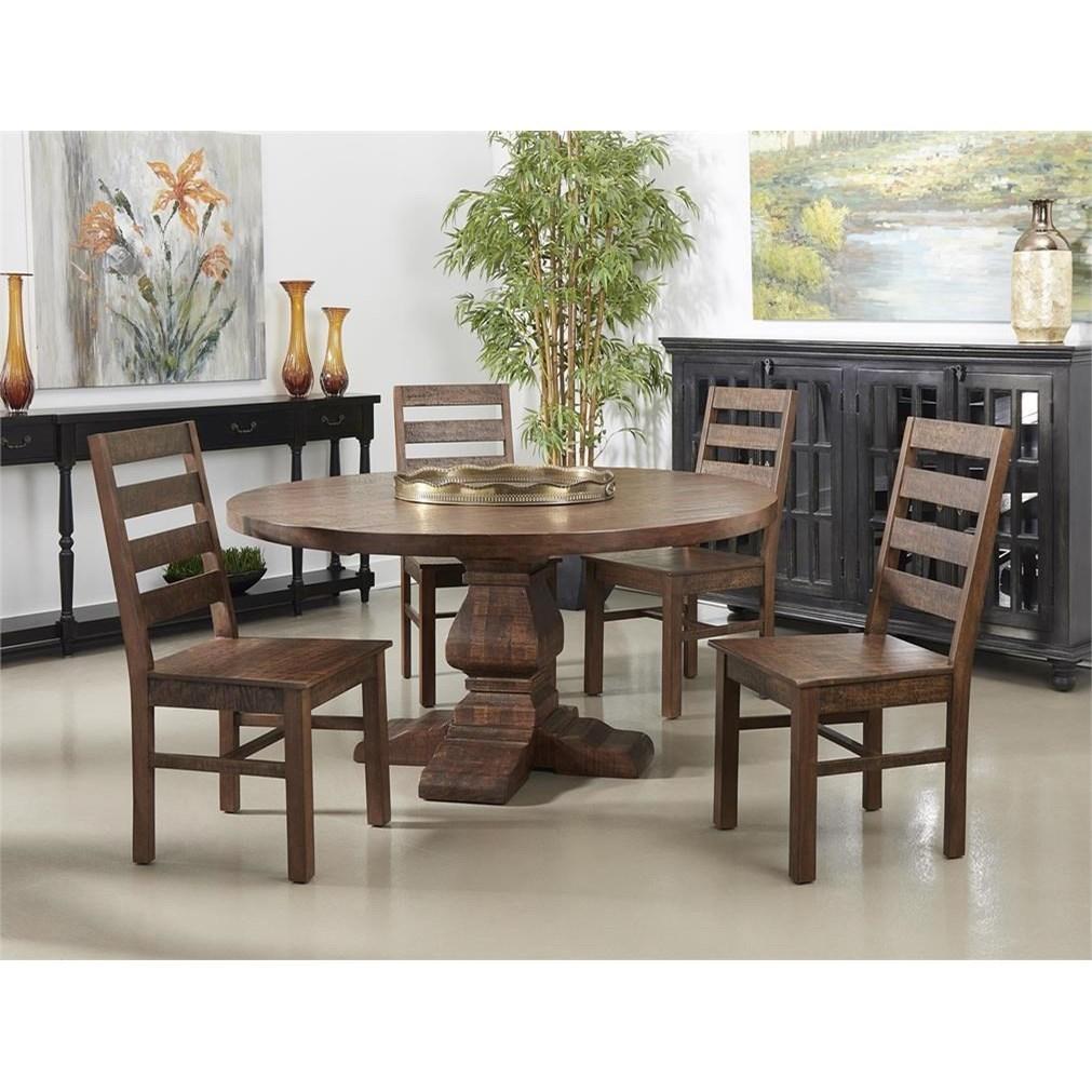 Woodbridge 5-Piece Dining Set at Sadler's Home Furnishings