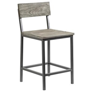Industrial Counter Height Barstool