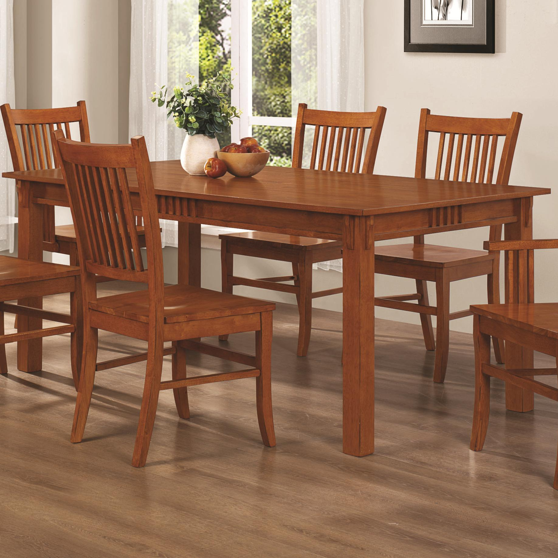 Marbrisa Dining Table by Coaster at Prime Brothers Furniture