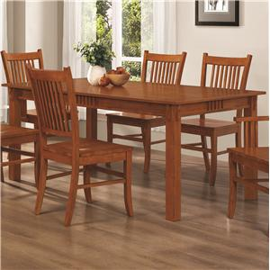 Rectangular Leg Dining Table