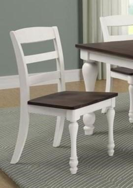 11038 Madelyn Ladder Back Side Chair by Coaster at Furniture Fair - North Carolina