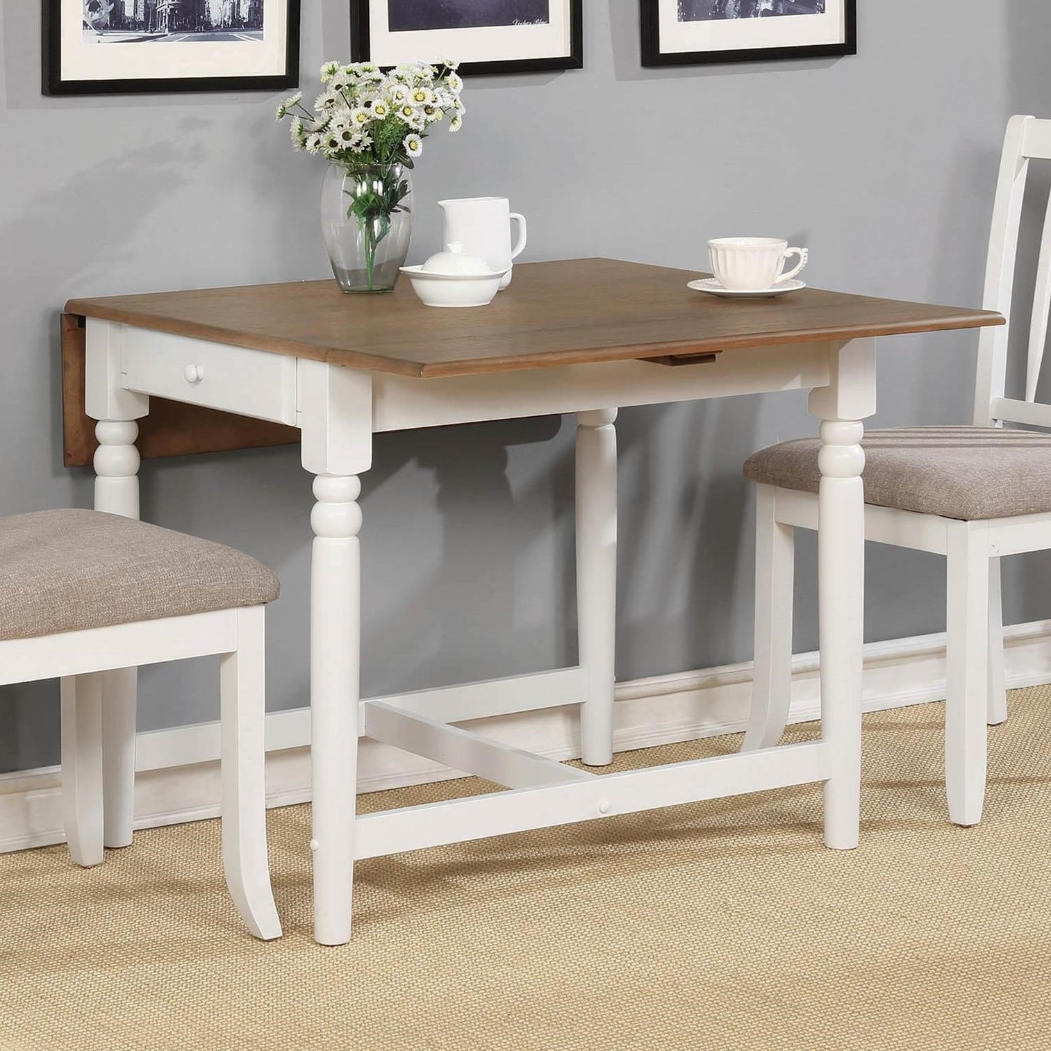 Hesperia Dining Table by Coaster at Lapeer Furniture & Mattress Center