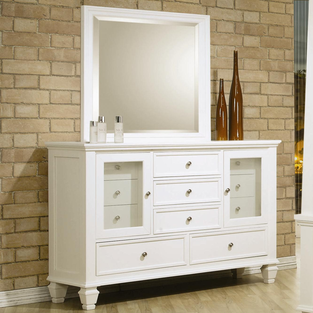 Sandy Beach Dresser and Mirror by Coaster at Value City Furniture
