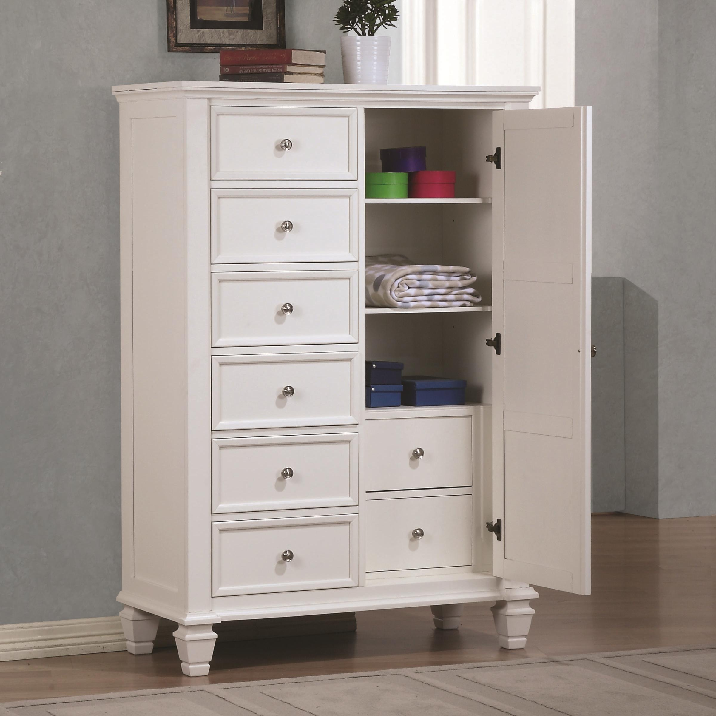Sandy Beach Door Dresser by Coaster at A1 Furniture & Mattress