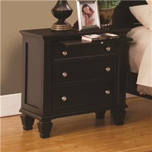 Coaster Sandy Beach Nightstand