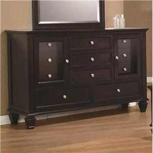 Dresser with 11 Drawers