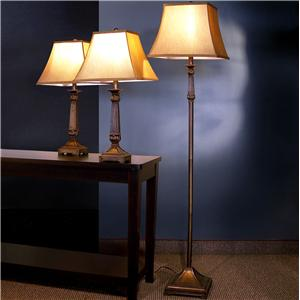 Traditional 3 Piece Lamp Set