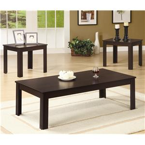 Coaster 3 Piece Occasional Table Sets 3 Piece Table Set