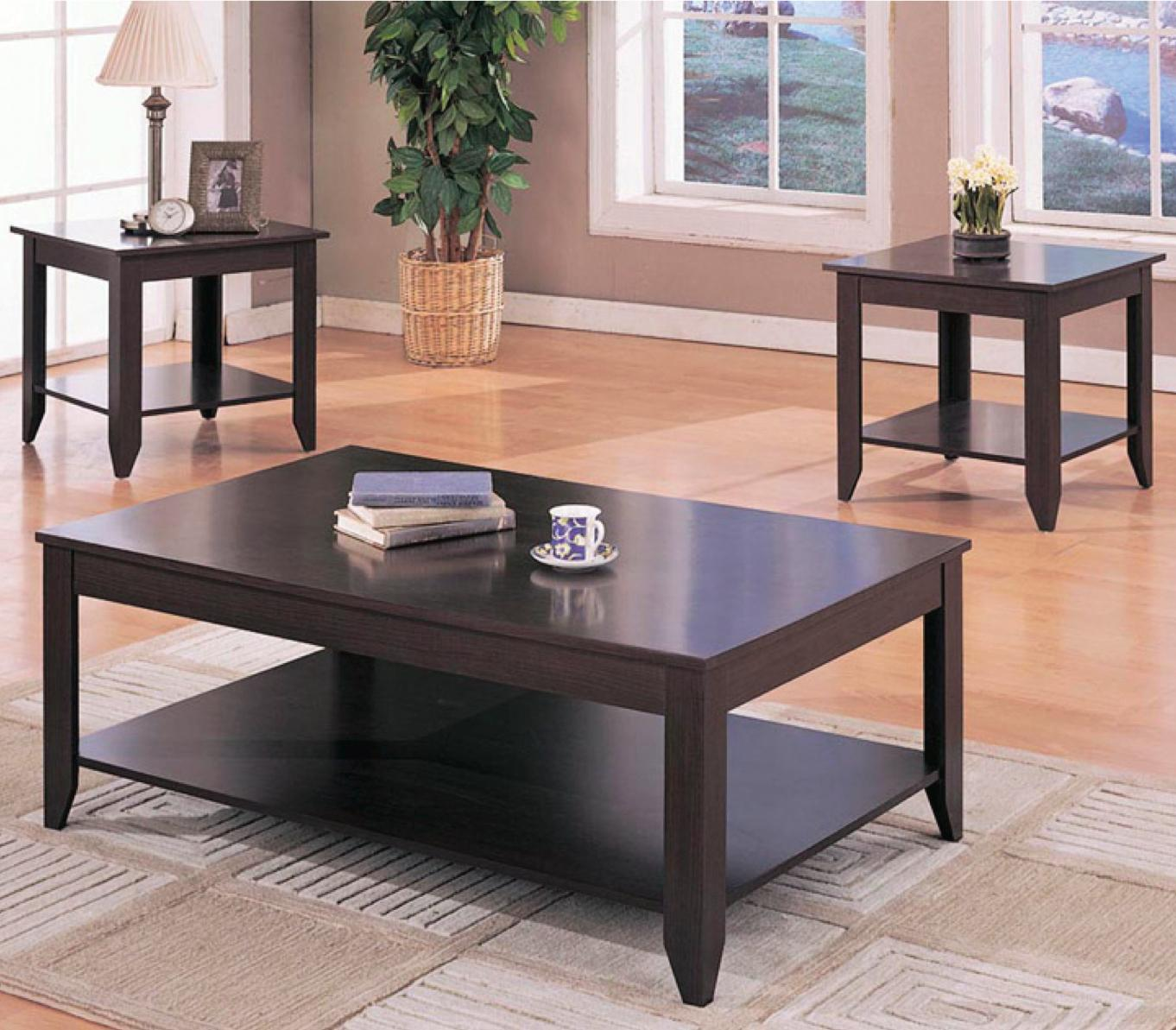 Occasional Table Sets 3 Piece Table Set by Coaster at Prime Brothers Furniture
