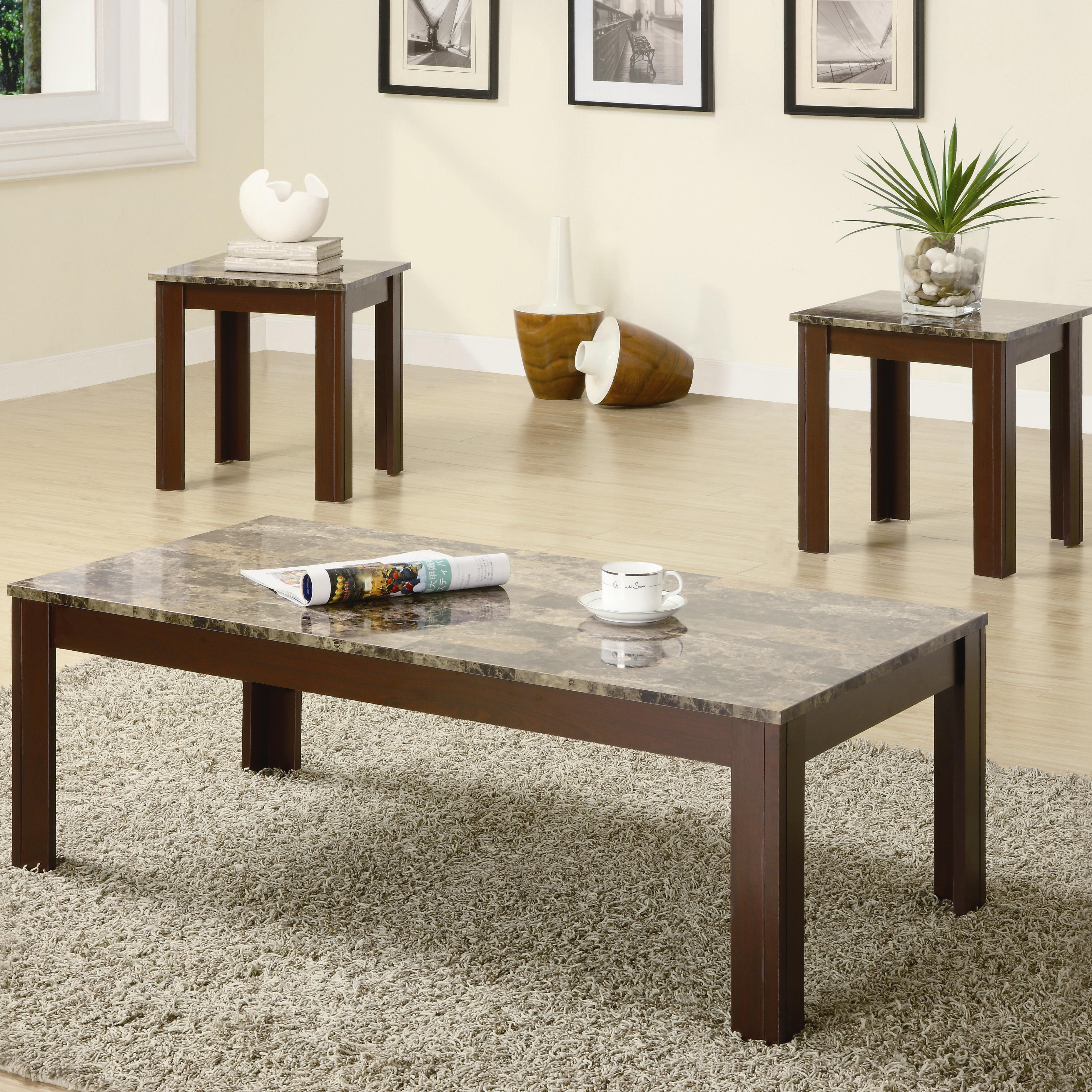 Occasional Table Sets 3PC Occasional Group by Coaster at Prime Brothers Furniture