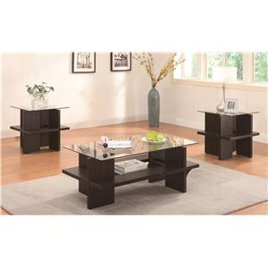 Coaster 3 Piece Occasional Table Sets 3PC Occasional Set