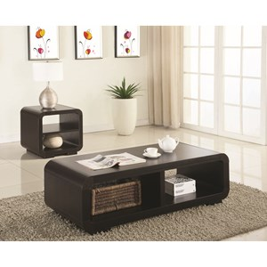 2 Piece Contemporary Occasional Set