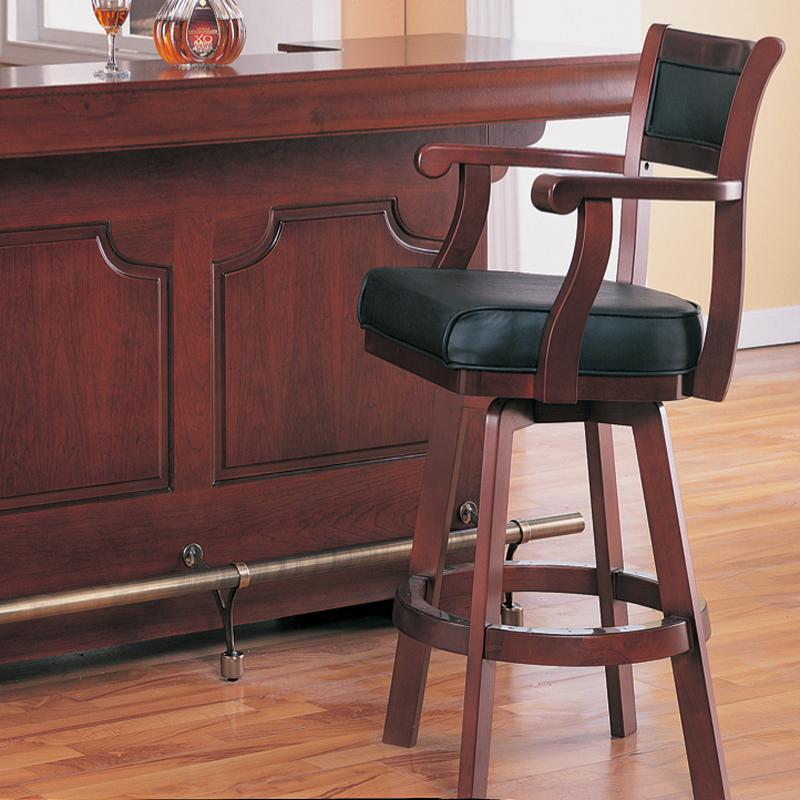 Lambert Bar Stool by Coaster at Furniture Superstore - Rochester, MN