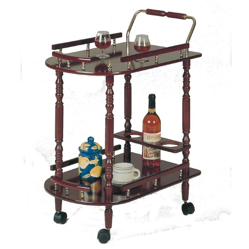 3512 Serving Cart by Coaster at Carolina Direct