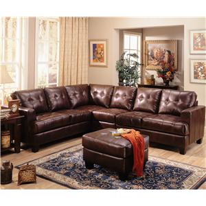 Coaster Samuel Sectional Sofa