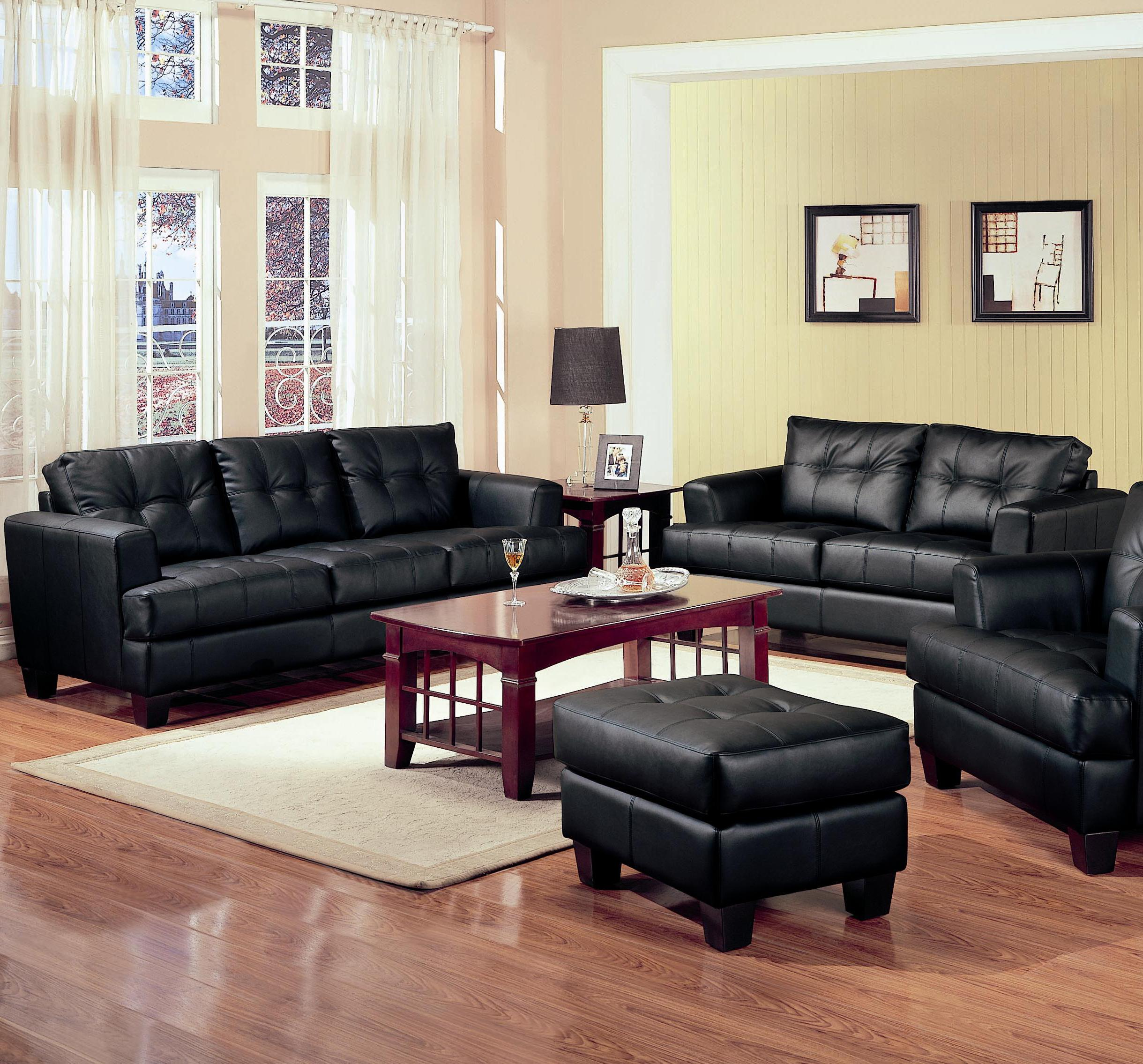 Samuel 2 Piece Loveseat and Sofa Group by Coaster at Prime Brothers Furniture