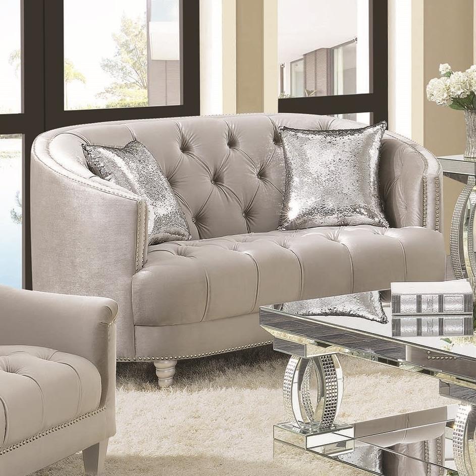 Avonlea Love Seat by Coaster at Nassau Furniture and Mattress