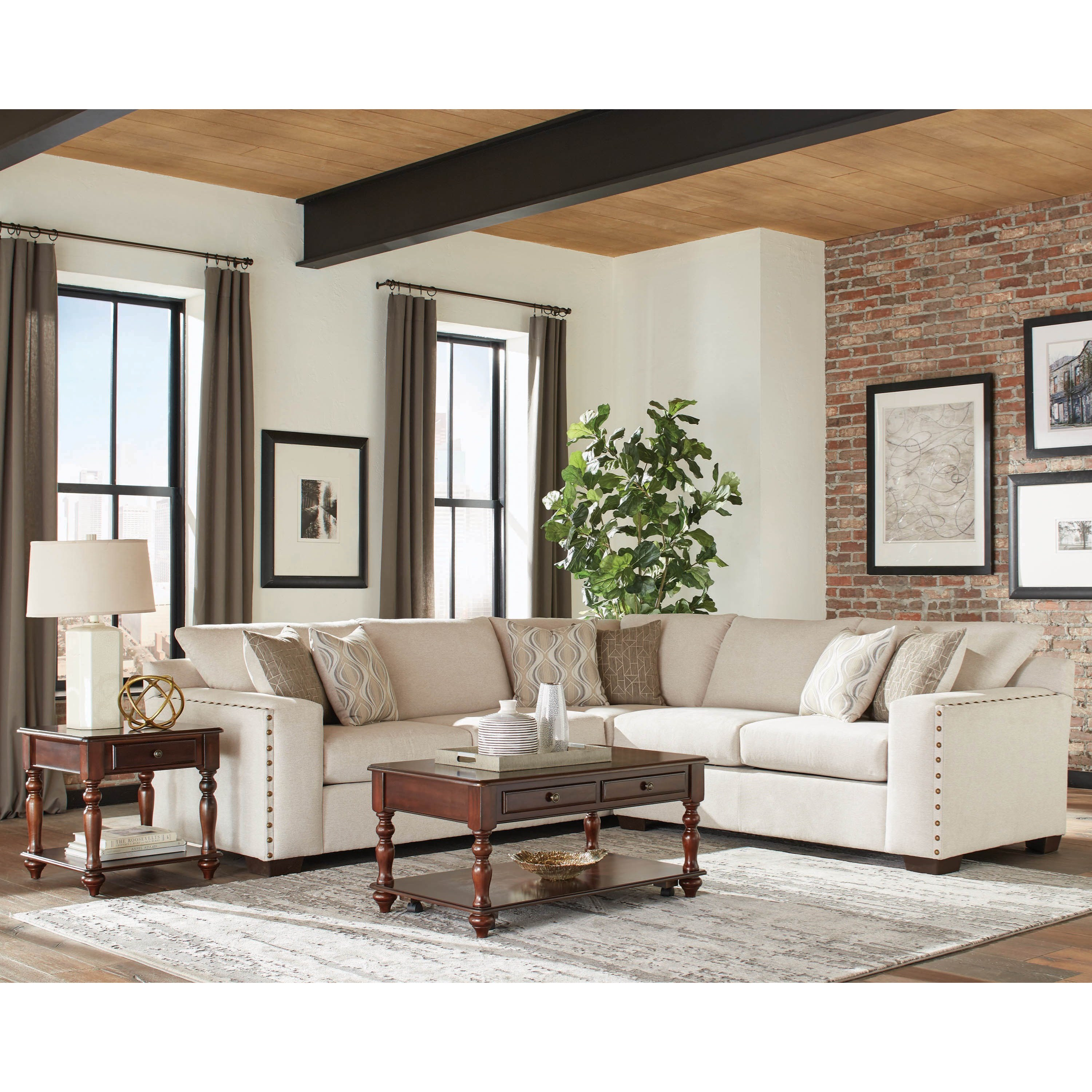 Aria Sectional Sofa by Coaster at Furniture Superstore - Rochester, MN