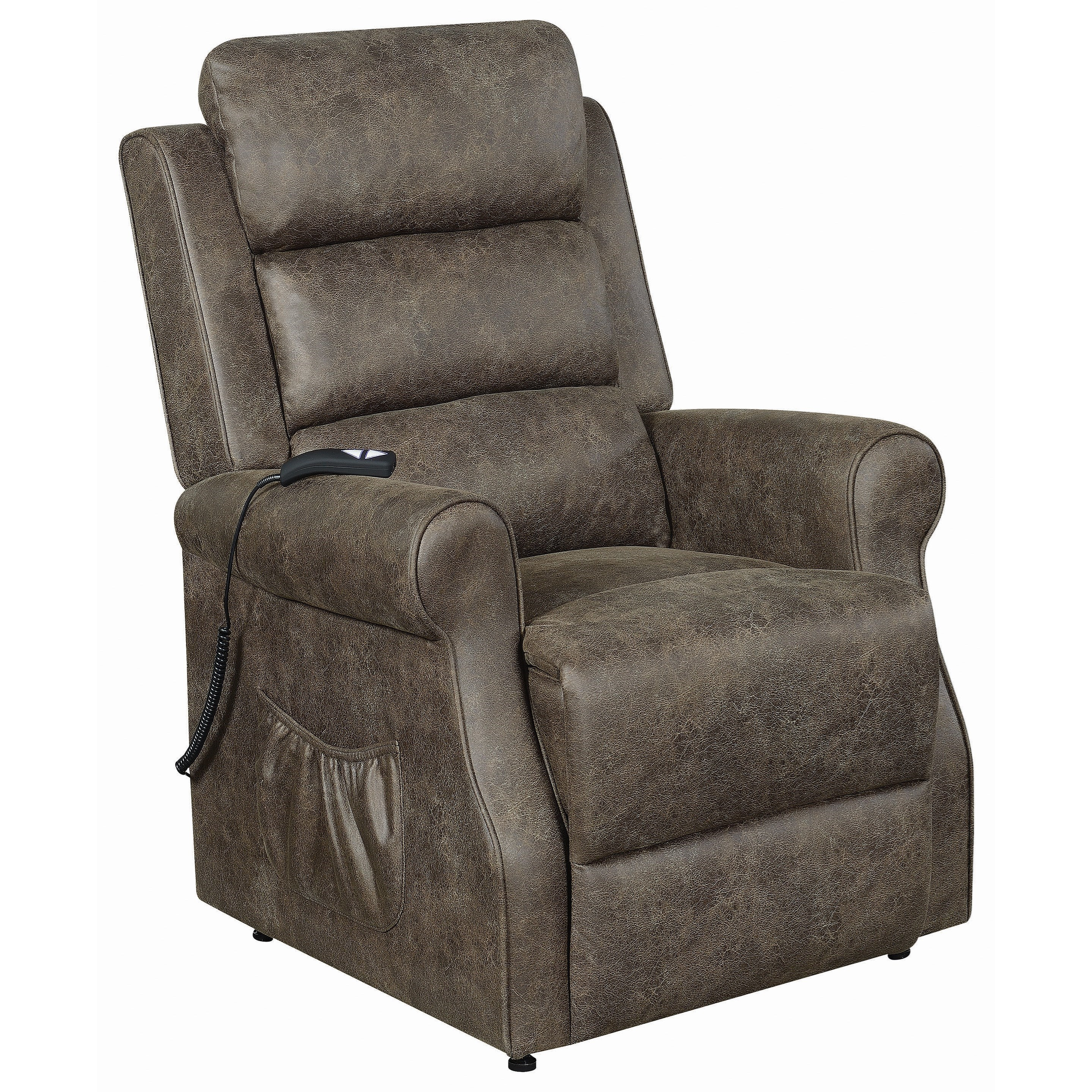 6503 Power Lift Recliner - Small by Coaster at Lapeer Furniture & Mattress Center