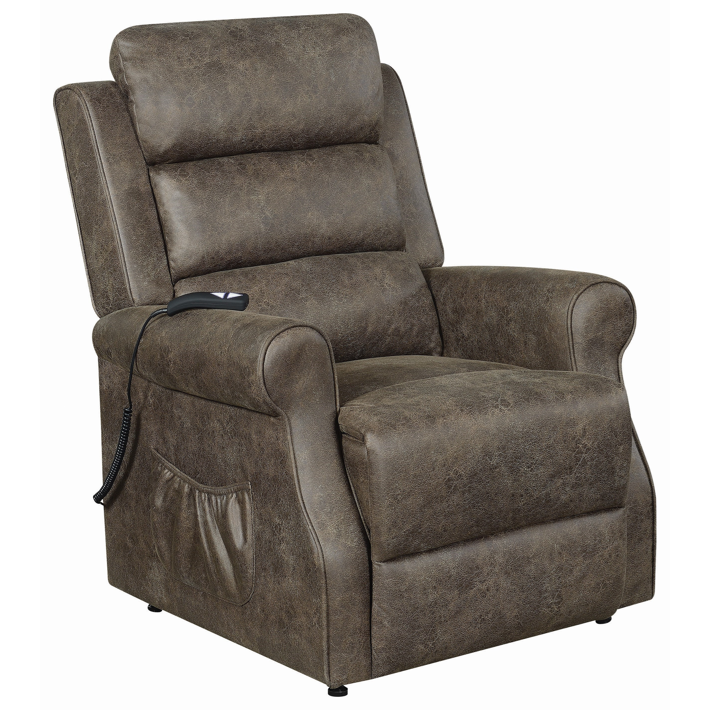 6503 Power Lift Recliner - Large by Coaster at Dream Home Interiors