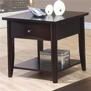 Coaster Whitehall End Table