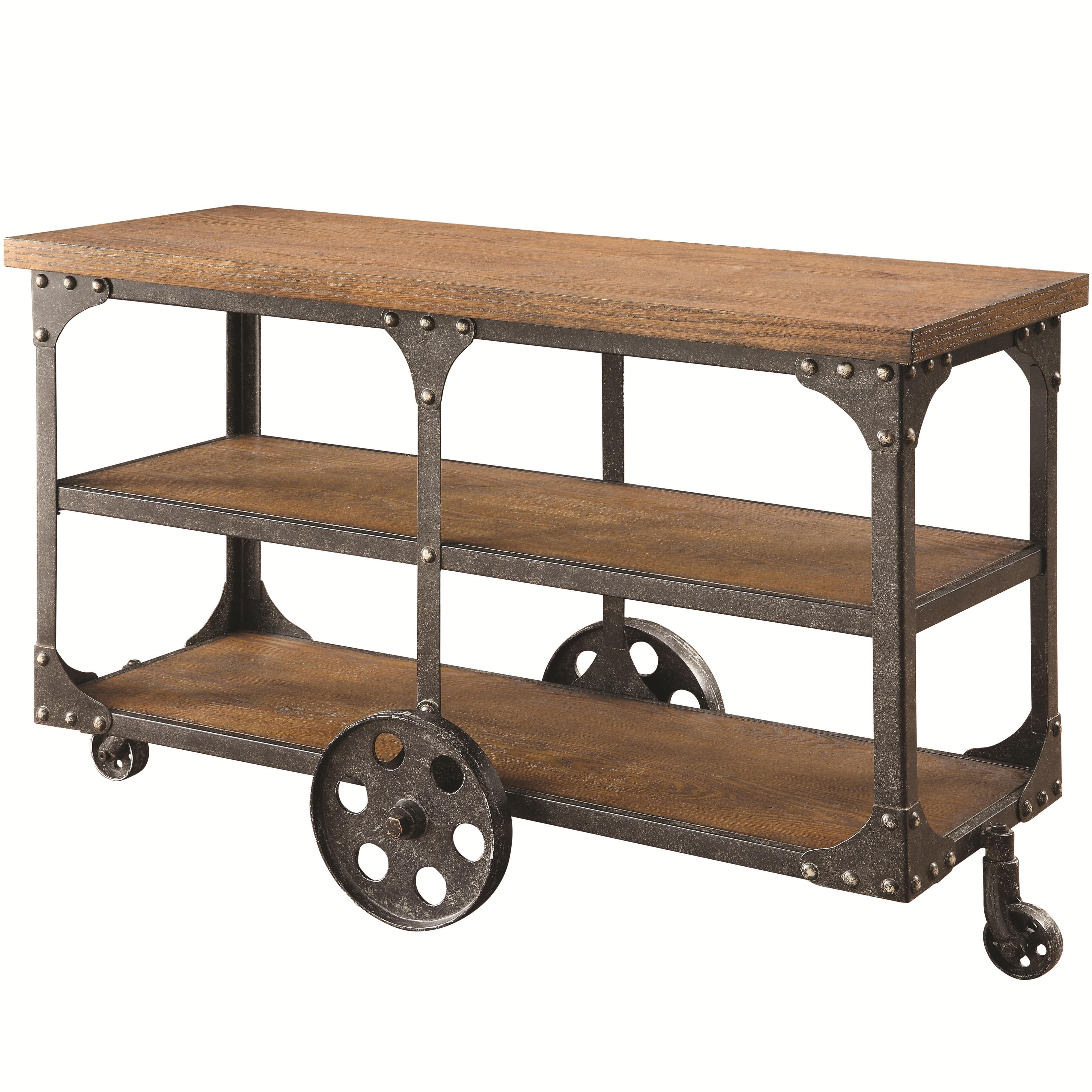70112 Sofa Table by Coaster at Furniture Superstore - Rochester, MN
