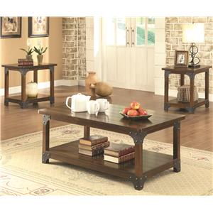 3 Piece Craftsman Occasional Set