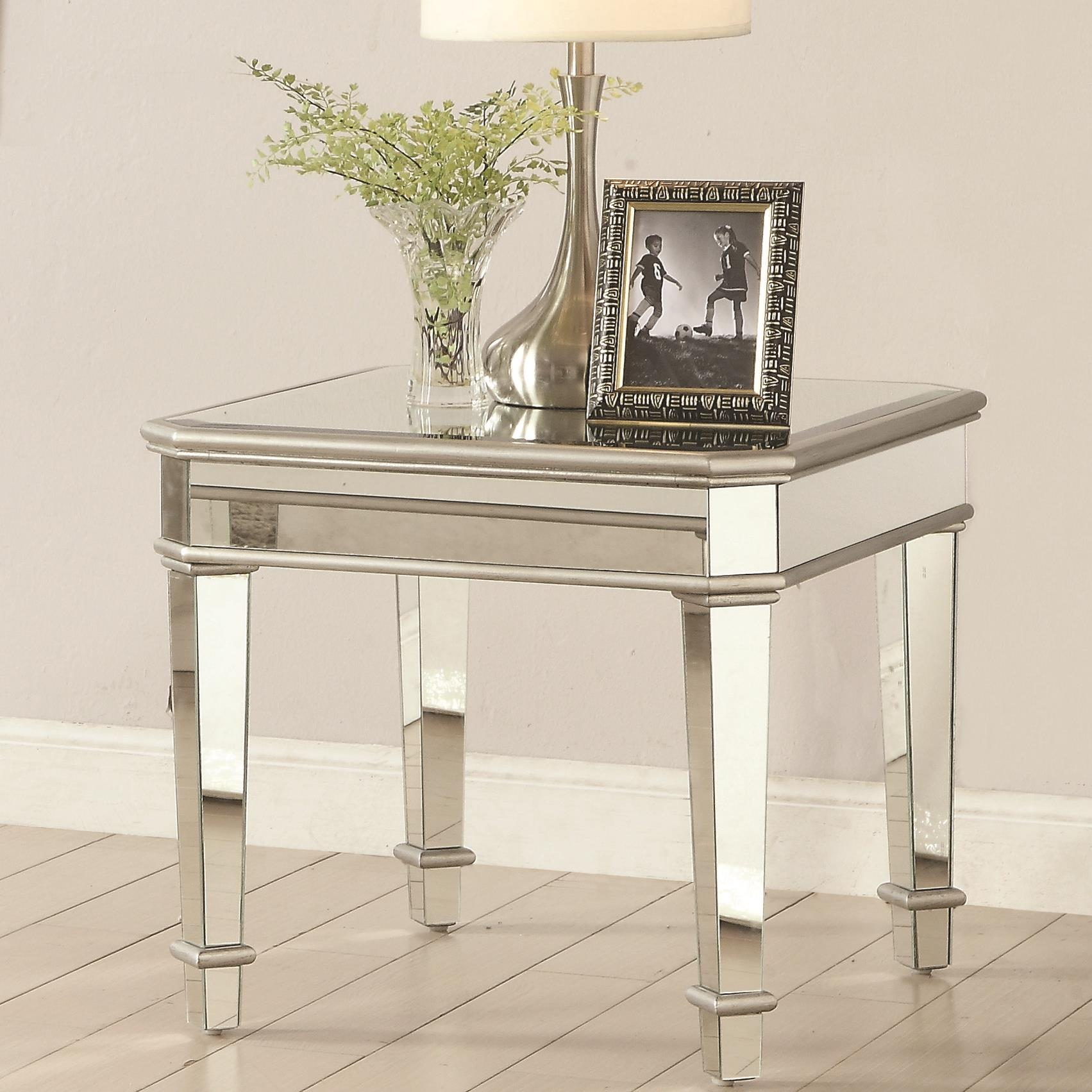 70393 End Table by Coaster at Lapeer Furniture & Mattress Center