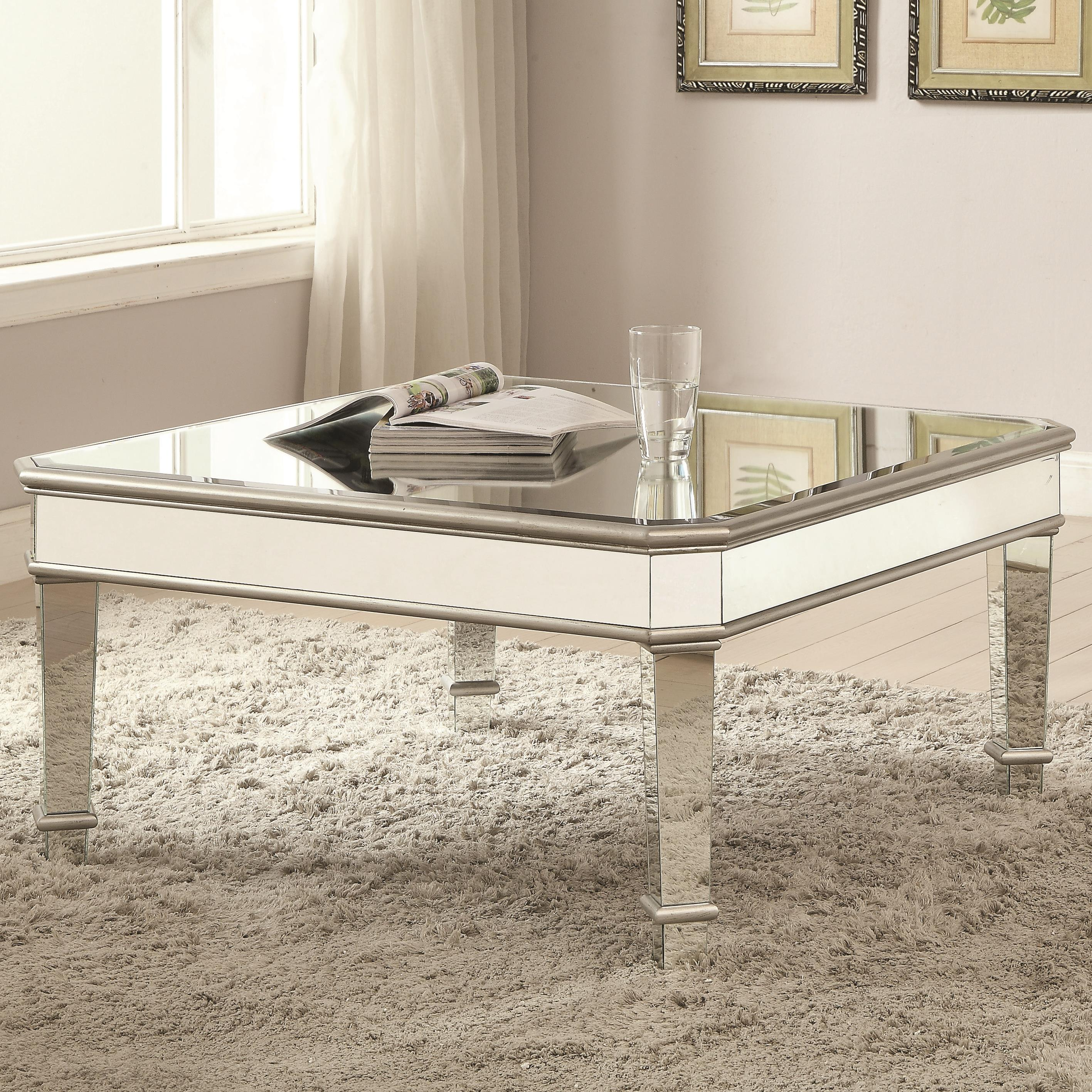 70393 Coffee Table by Coaster at A1 Furniture & Mattress