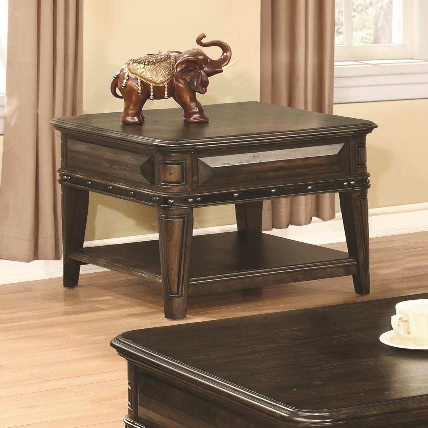 70425 End Table by Coaster Furniture at Del Sol Furniture