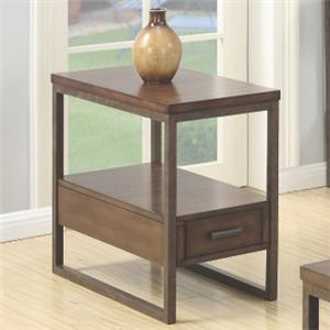 Coaster 70430 Chairside Table
