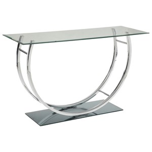 U-Shaped Contemoporary Sofa Table