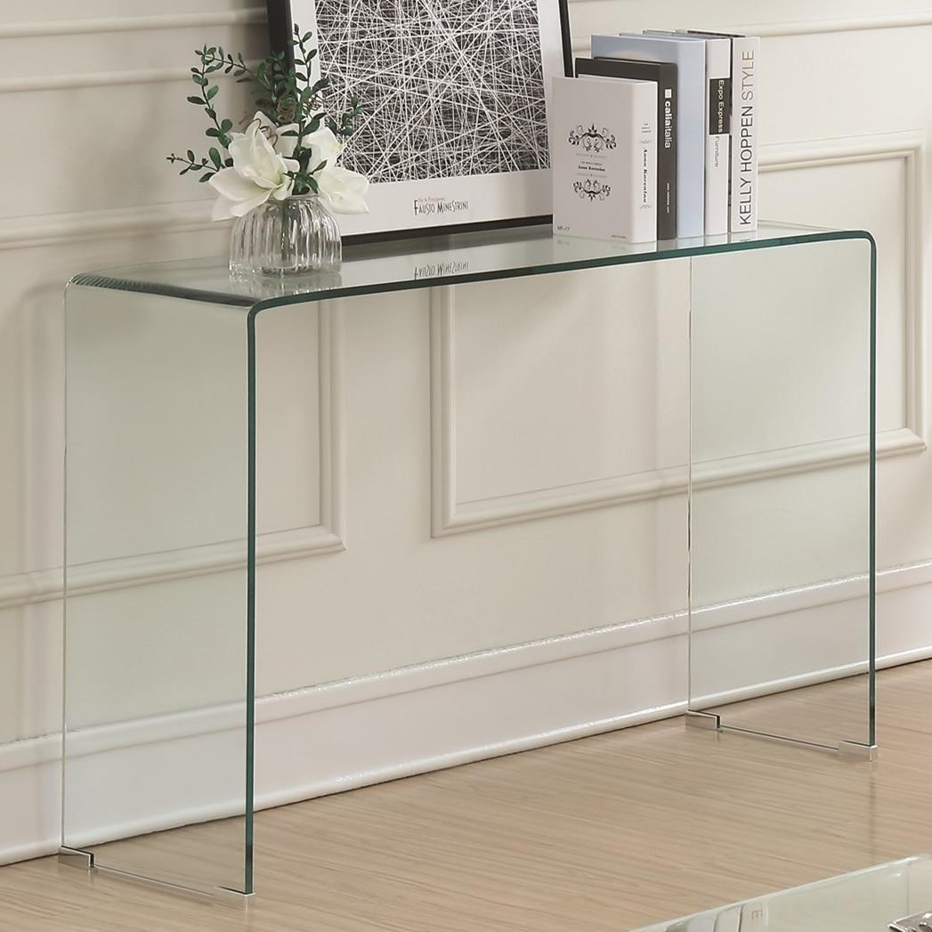 70532 Sofa Table by Coaster at Lapeer Furniture & Mattress Center