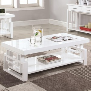 Rectangular Contemporary Coffee Table