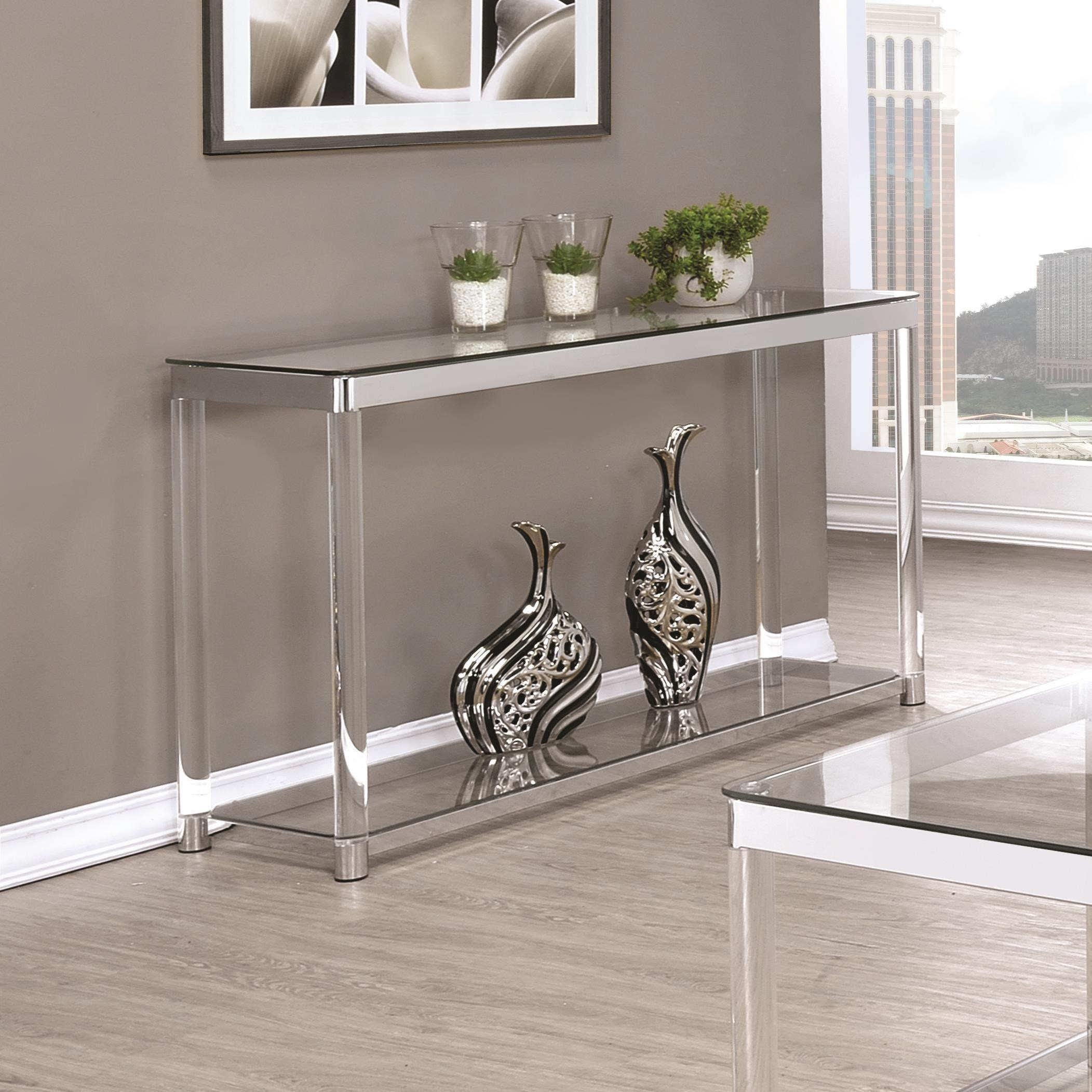 72074 Sofa Table by Coaster at Furniture Superstore - Rochester, MN